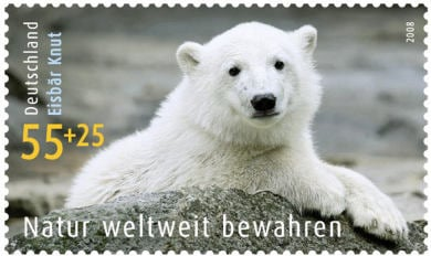 Knut gets his own stamp