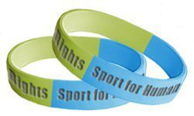 Olympic athletes urged to wear human rights bracelet