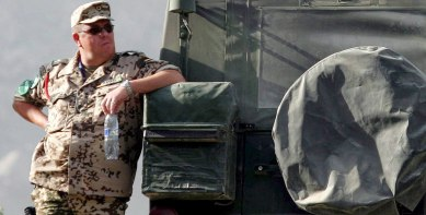 German soldiers too fat to fight