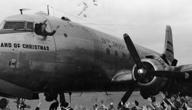The Berlin Airlift's Candy Bomber