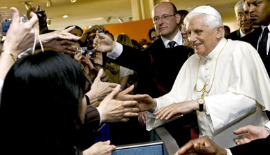 German Pope to throw party in New York