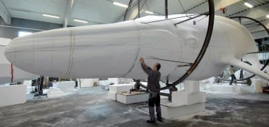 Stralsund building world's largest life-size whale model