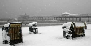 Spring cold snap nips northern Germany