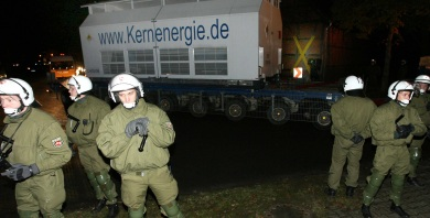 German atomic waste transport cancelled for 2009