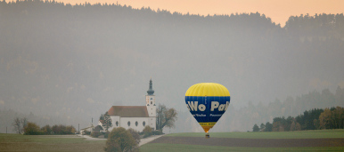 Hot air balloons take off for German championship