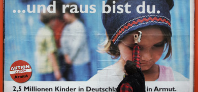 Child poverty gap growing in Germany