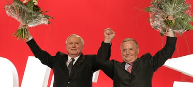 Far-left political force tells Germany it is here to stay