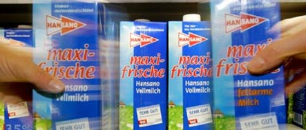 Dairy farmers expect Germany to feel milk strike pinch