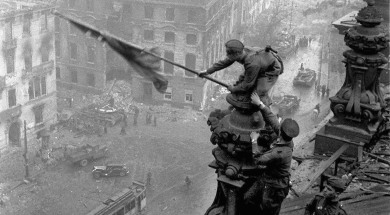 New truth revealed about famous WWII Reichstag photo