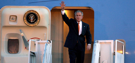 As Bush era passes, Germany fears greater US demands