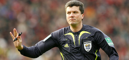 Germany's Euro 2008 referee will opt out on psychotherapy