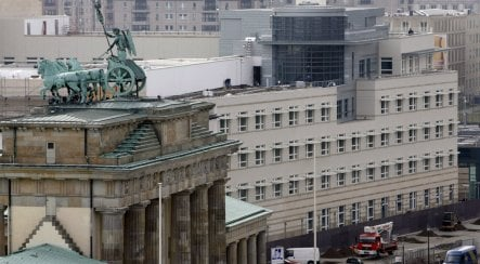 Opinion: Fortress America in the heart of Berlin