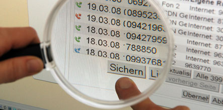 CD with 17,000 German bank accounts found