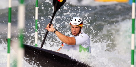 Grimm delivers Germany's first Olympic gold for slalom canoe