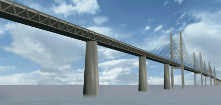 Germany and Denmark to link with massive bridge across strait