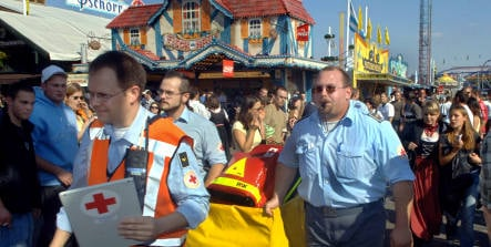 Red Cross preps for swarms of Italians at Oktoberfest