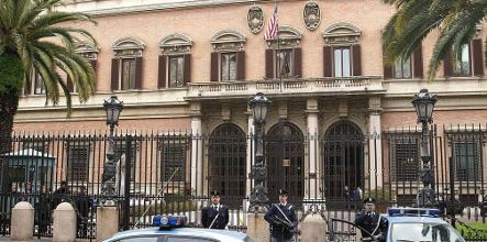 Fraudster tries to sell US embassy in Rome