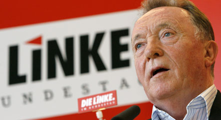 Socialist presidential candidate says Germany isn't a democracy