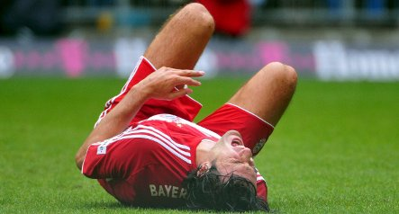 Bayern could face Fiorentina without injured Toni