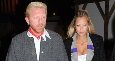 Dumped fiancée 'disappointed and hurt' by Boris Becker