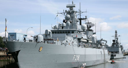 Navy frigate sets off to help US mission near Africa