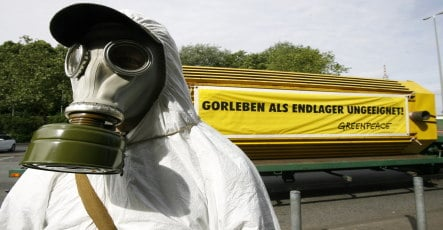 Gabriel warns anti-nuclear waste activists against violence