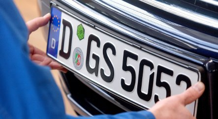 Drivers warned of Nazi codes on licence plates