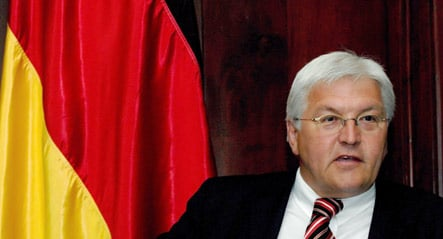 Steinmeier tells ships worried about pirates to fly German flag