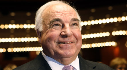 Ex-White House chef served double portions to Helmut Kohl