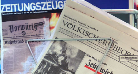 <i>Zeitungszeugen</i> project goes on without Nazi paper reprints