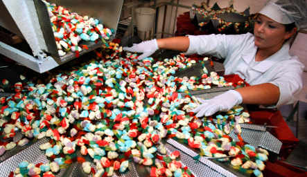 Stressed-out Germans boost sweets sales