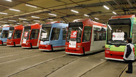 Workers strike in four German states