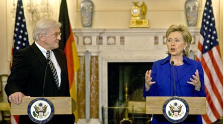 US and Germany talk security and trade