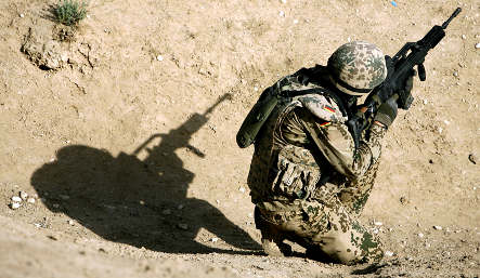 Parliament to debate help for traumatised soldiers