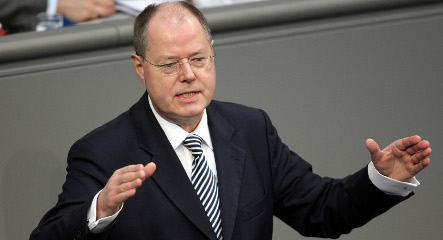 Steinbrück warns against growing spectre of protectionism