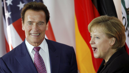Schwarzenegger tells CeBIT fair that only 'losers whine'