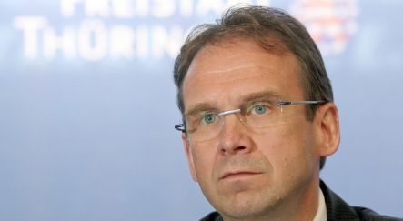 Althaus set to lead CDU in Thuringia election this summer