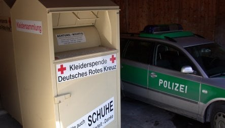 Dead infant found in Berlin clothing donation container