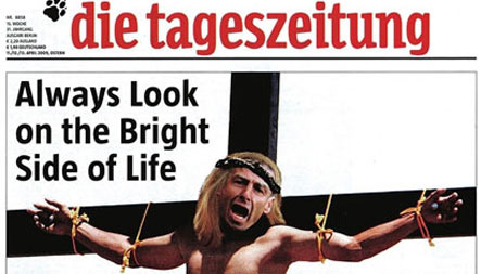 Klinsmann suing daily over crucifixion cover