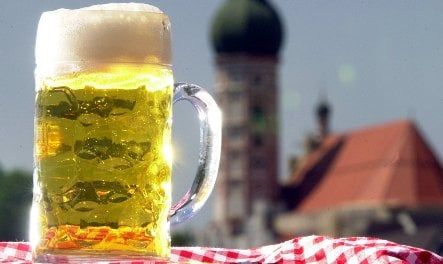 Oktoberfest beer Maß prices bubble over