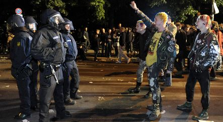 Arrests and parties mark start of May 1