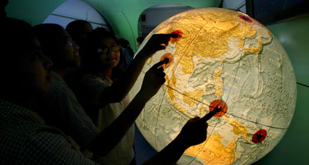 Rolling science exhibition may travel as far as China and India