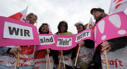 Germany lags Europe in social equality survey