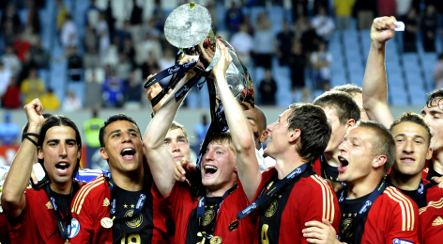 Germany humiliates England in Under-21 championship final