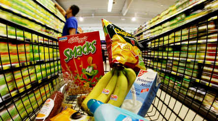 Deflation threat fades as prices rise by tiny degree