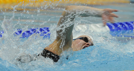 Steffen breaks world 100 metres freestyle record but credits suit