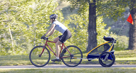 Father forgets son on bike ride