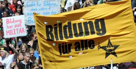 Solidarity for German students is a two-way street