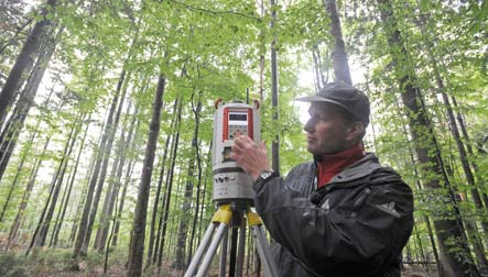 Laser scanner aims to help park rangers tell forest from trees