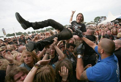 The festival is billed as the biggest heavy metal fest in the world with 90 bands in three days. Photo: DPA
